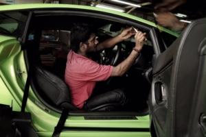 Lamborghini Roof Repair