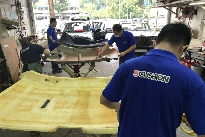 Singapore Finest Car Upholsterer