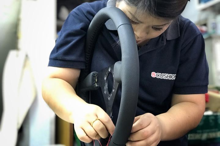 Best steering leather repair
